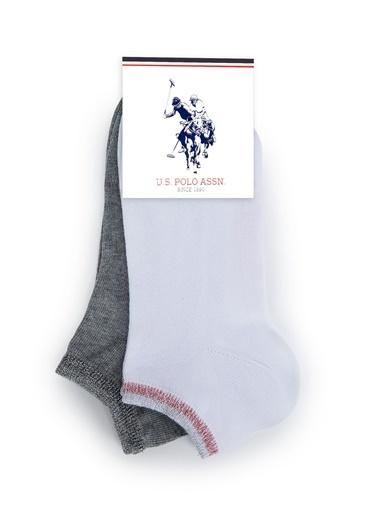 U.S. Polo Assn. Çorap Beyaz